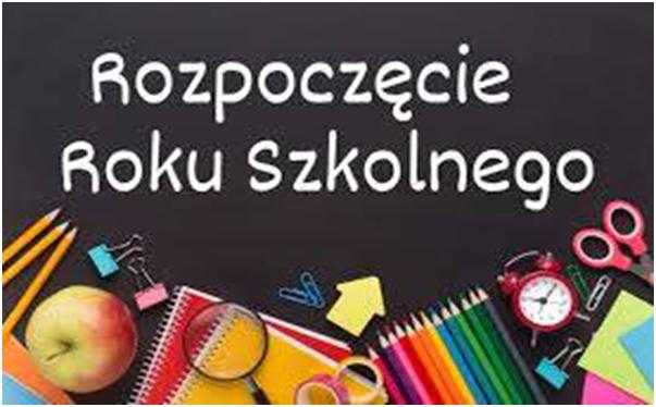 Nowy rok szkolny - powitanie - Szkoła Podstawowa nr 4 z Oddziałami  Integracyjnymi im. Bronisława Chącińskiego w Łukowie